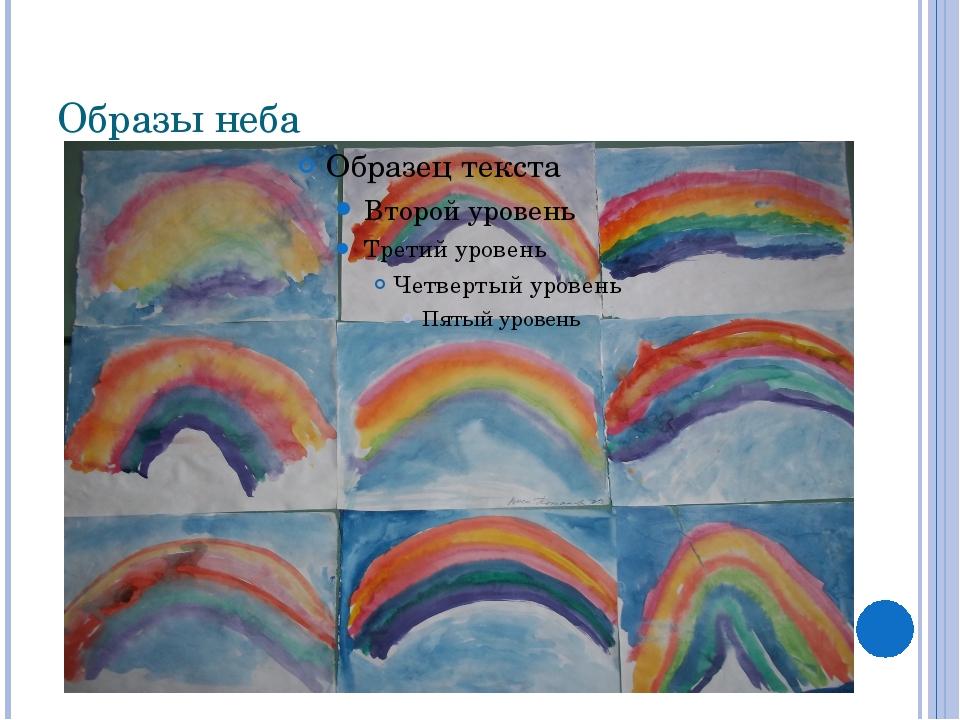 Образы неба
