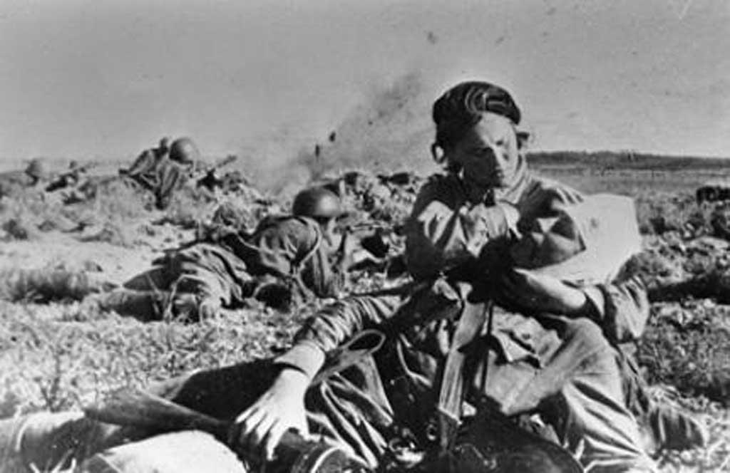 Фотофакт. . Архивные кадры Великой Отечественной войны