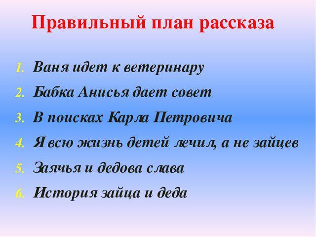 Ваня идет к ветеринару Бабка Анисья дает совет В поисках Карла Петровича Я вс...