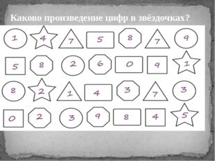 Каково произведение цифр в звёздочках?