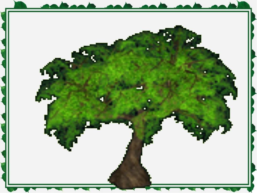 Анимация картинки деревья, днем рождения