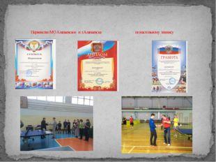 Первенство МО Алапаевское и г.Алапаевска по настольному теннису