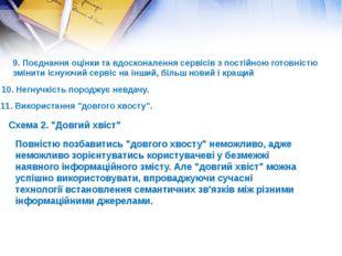 9. Поєднання оцінки та вдосконалення сервісів з постійною готовністю змінити