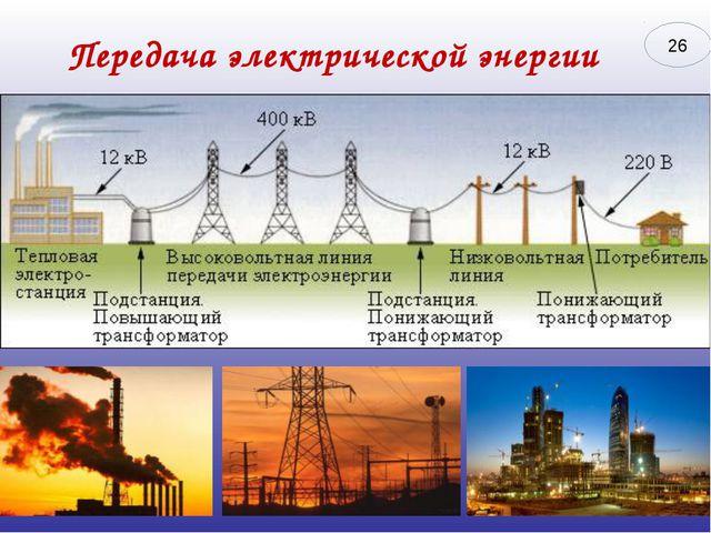 Передача электрической энергии 26