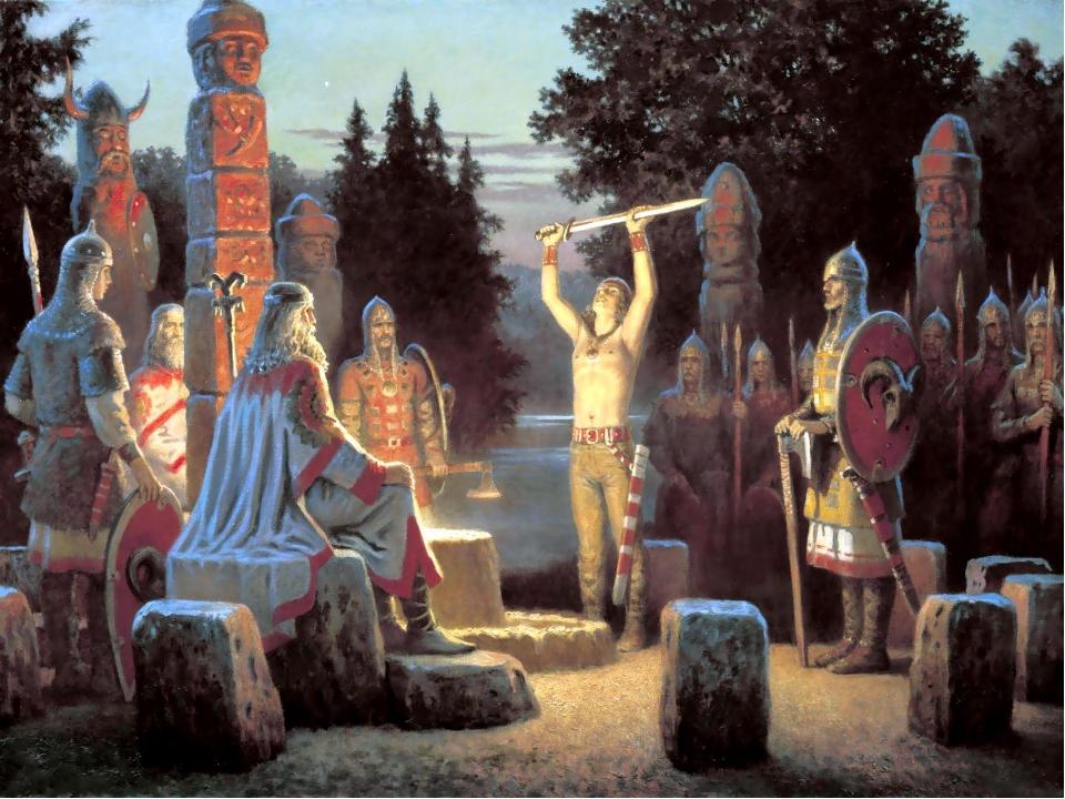 Древние обряды – действа, в которых особое значение имели ритуальные слова, д...