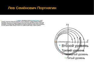 Лев Семёнович Портнягин Дифференциа́льное уравне́ние —уравнение, связывающе