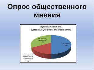 ? Опрос общественного мнения