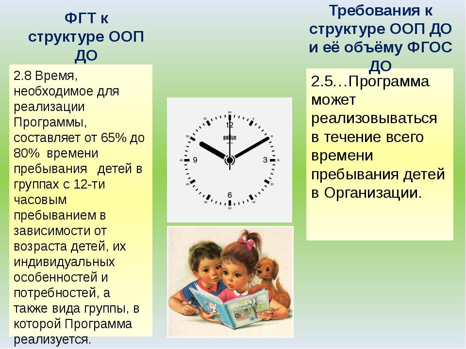 2.8 Время, необходимое для реализации Программы, составляет от 65% до 80% вре...