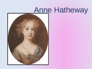 Anne Hatheway
