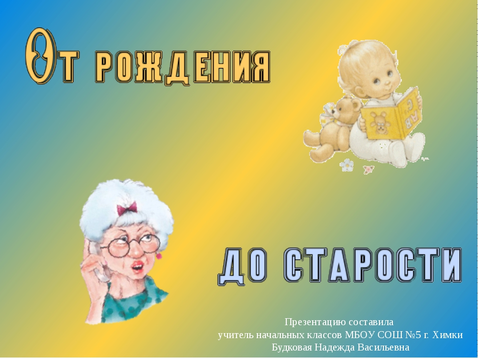 Презентацию составила учитель начальных классов МБОУ СОШ №5 г. Химки Будковая...