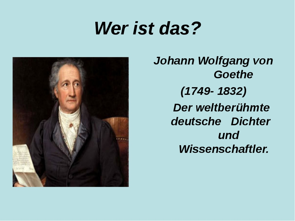 the life and works of johann wolfgang von goethe Follow the career of writer johann wolfgang von goethe and remained for the rest of his life johann pachelbel was known for his works for.