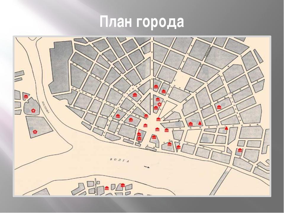 План города