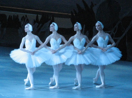 nachalnica: караоке песни танец маленьких лебедей