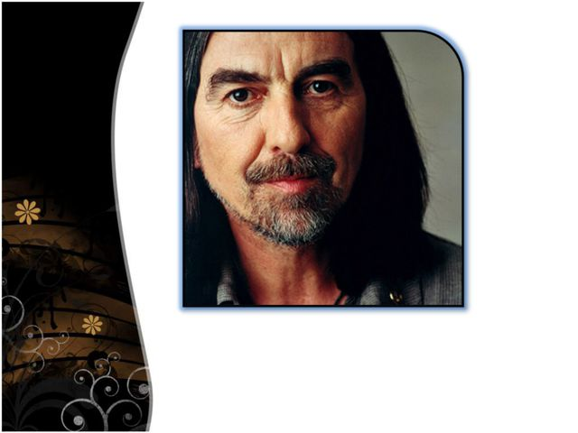 George Harrison recorded many solo albums over the years, and died of cancer...