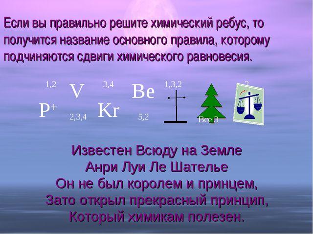 Если вы правильно решите химический ребус, то получится название основного пр...
