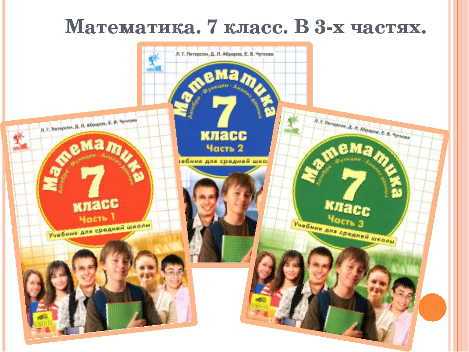 Математика. 7 класс. В 3-х частях.
