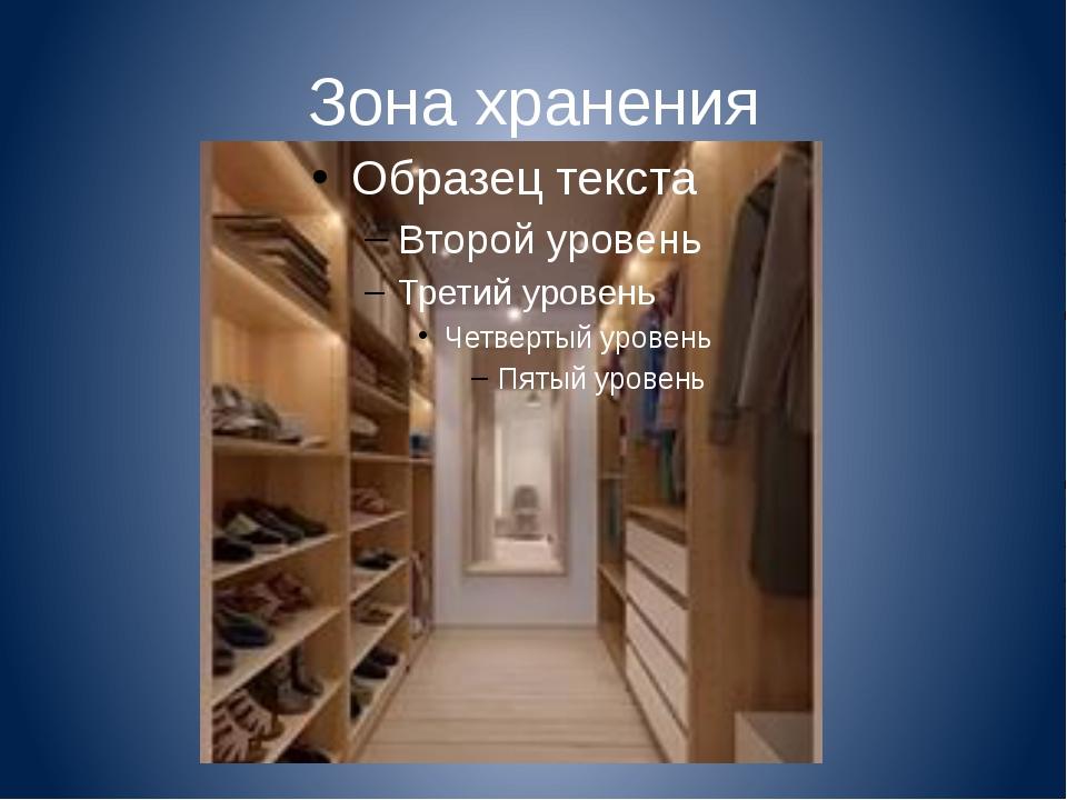 Зона хранения