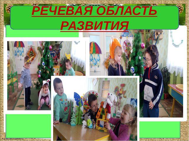 РЕЧЕВАЯ ОБЛАСТЬ РАЗВИТИЯ FokinaLida.75@mail.ru