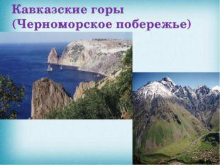 Кавказские горы (Черноморское побережье)