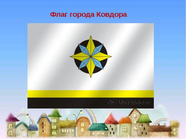 Флаг города Ковдора