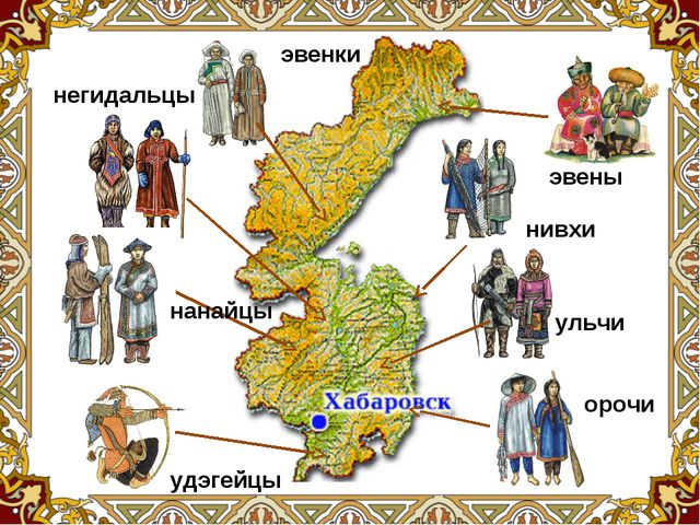 нивхи орочи ульчи эвены эвенки удэгейцы нанайцы негидальцы