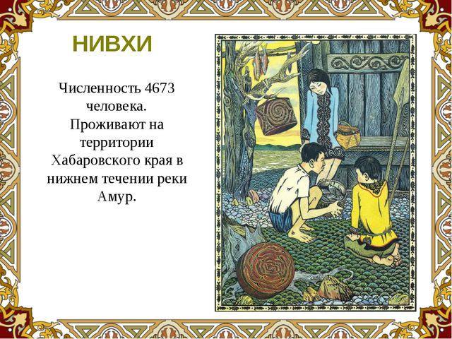 Численность 4673 человека. Проживают на территории Хабаровского края в нижнем...