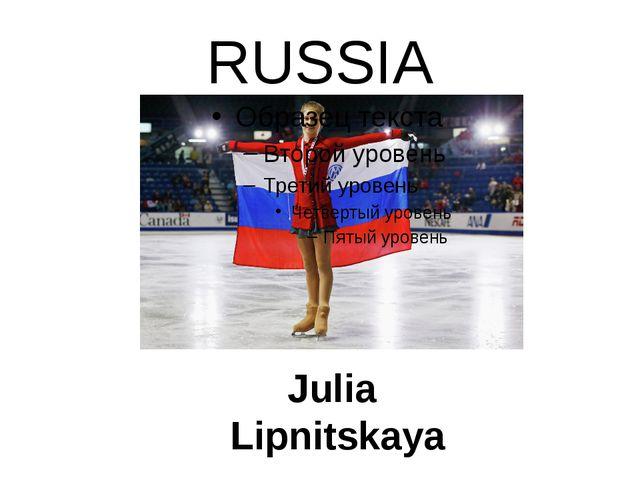 RUSSIA Julia Lipnitskaya