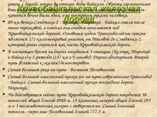 """Кругобайкальская железная дорога """"Несокрушимый памятник 19 века"""". С одной сто"""