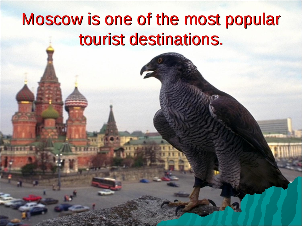 Moscow is one of the most popular tourist destinations.