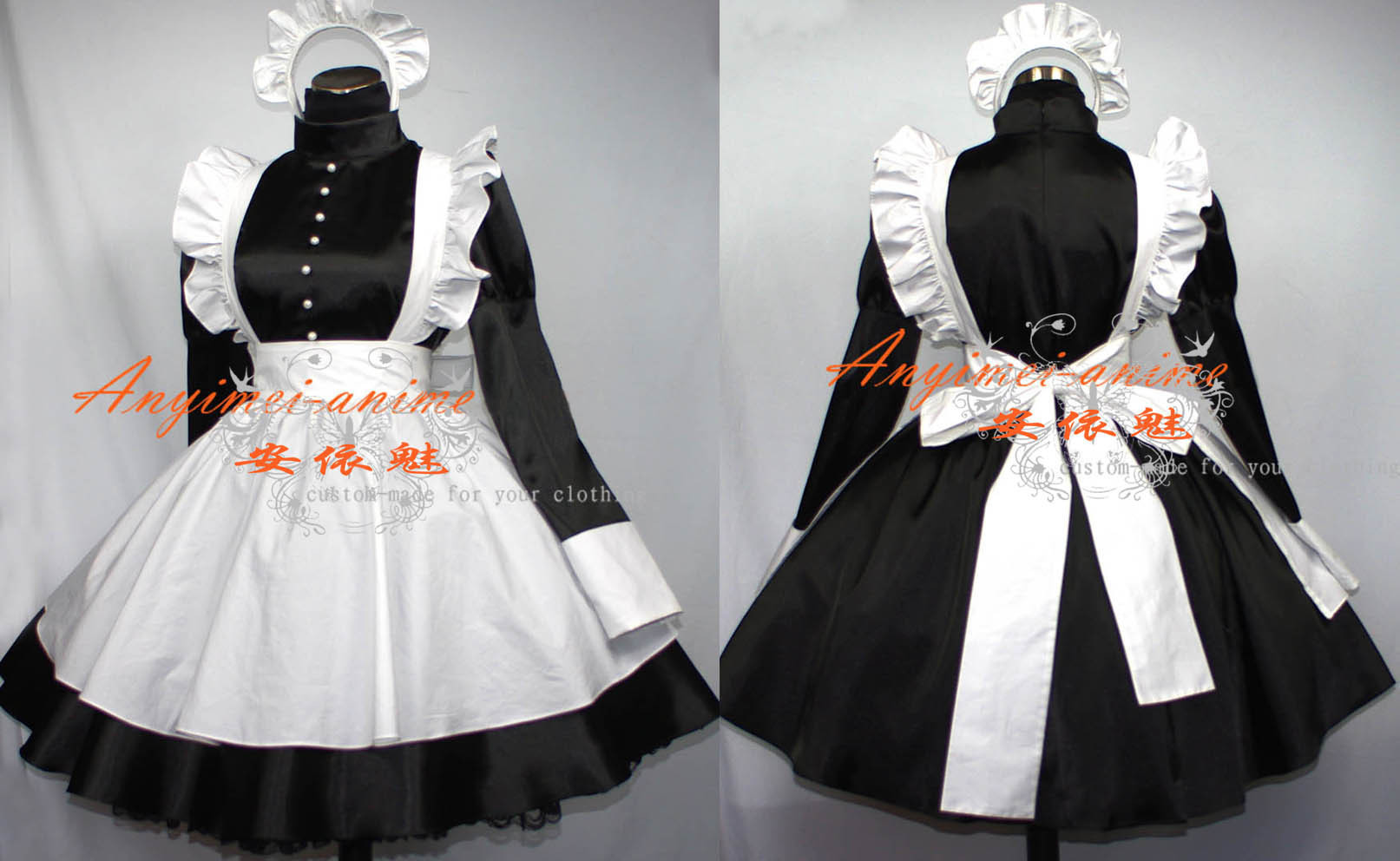 Как сшить платье горничной аниме
