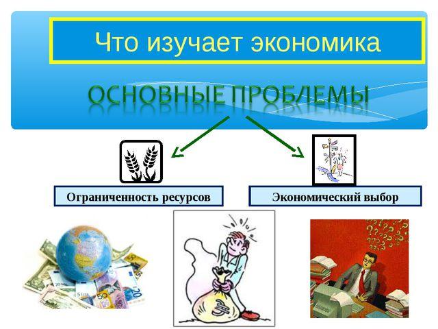 Что изучает экономика