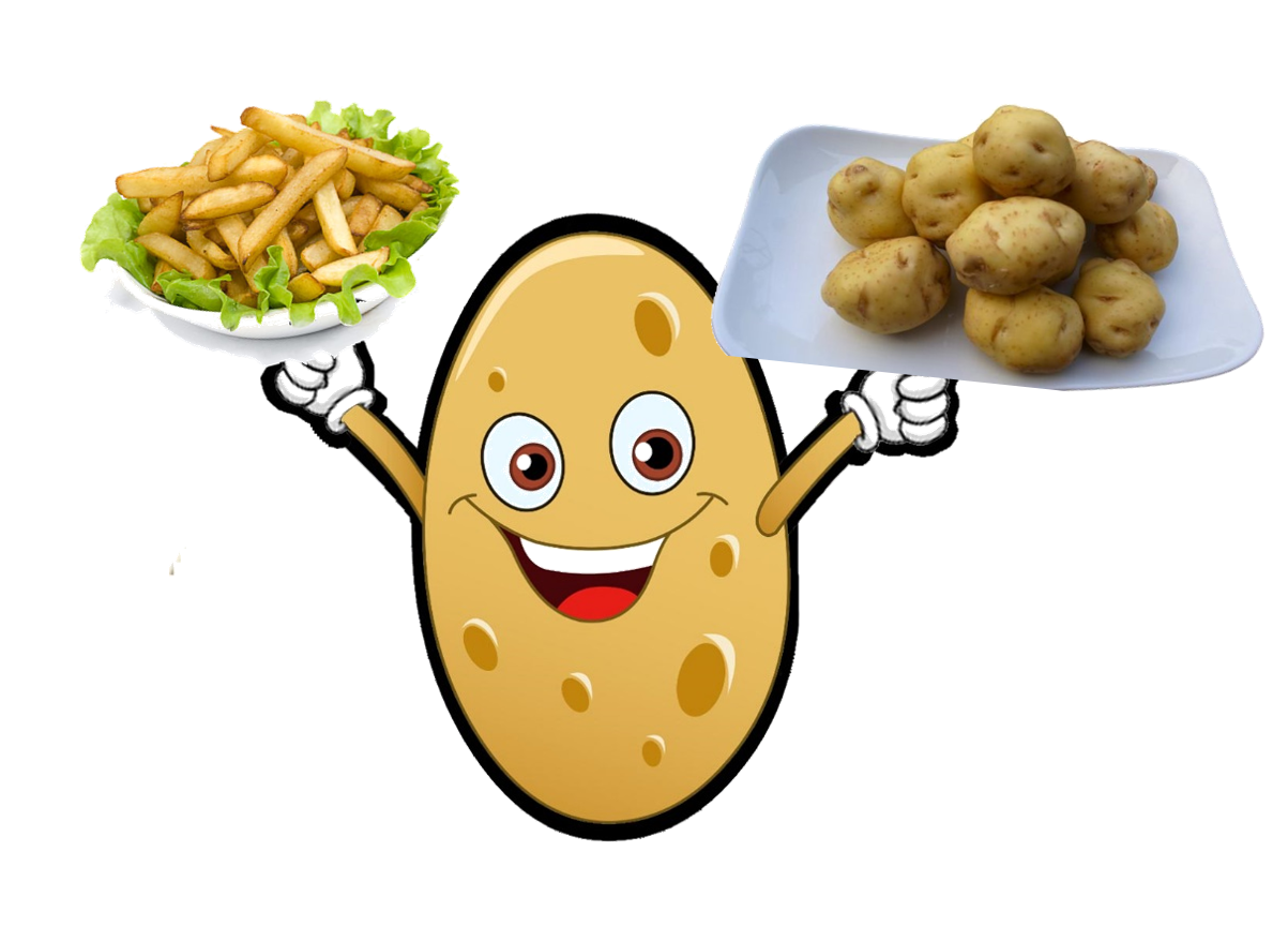Картошка прикольные картинки рисованные, открытки
