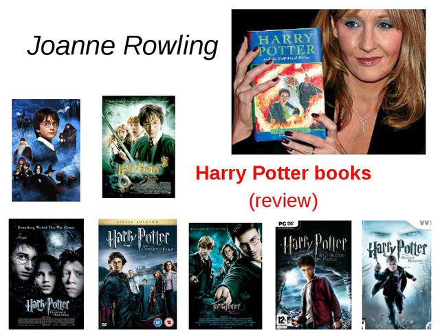 Joanne Rowling Harry Potter books (review)