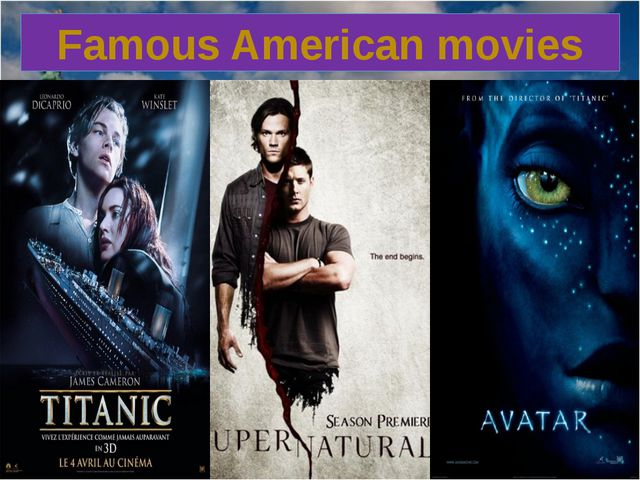 Famous American movies