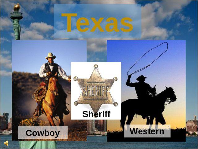 Western Cowboy Texas Sheriff
