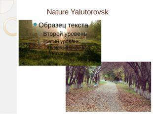 Nature Yalutorovsk