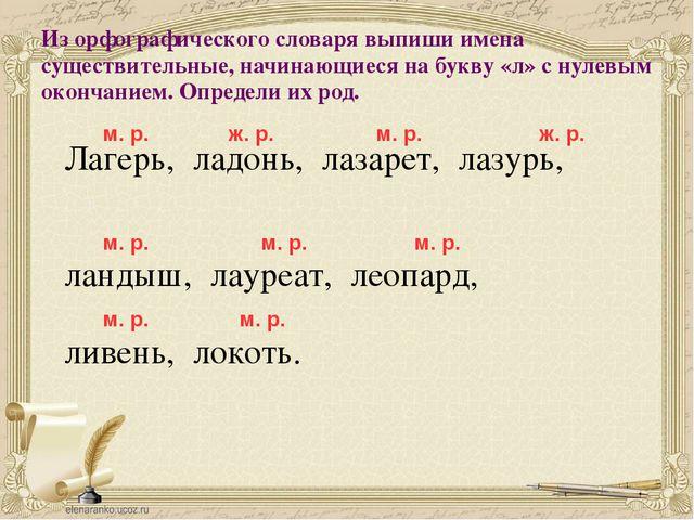 Из орфографического словаря выпиши имена существительные, начинающиеся на бук...
