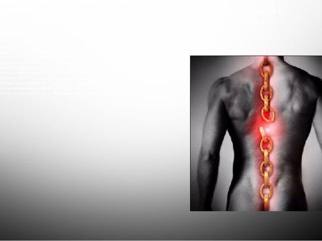 Основные проявления травмы шейного, грудного и поясничного отдела позвоночник...