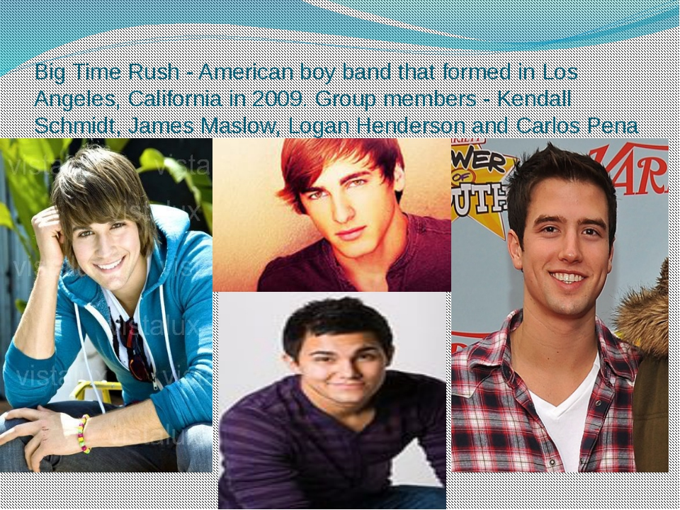 Big Time Rush - American boy band that formed in Los Angeles, California in 2...