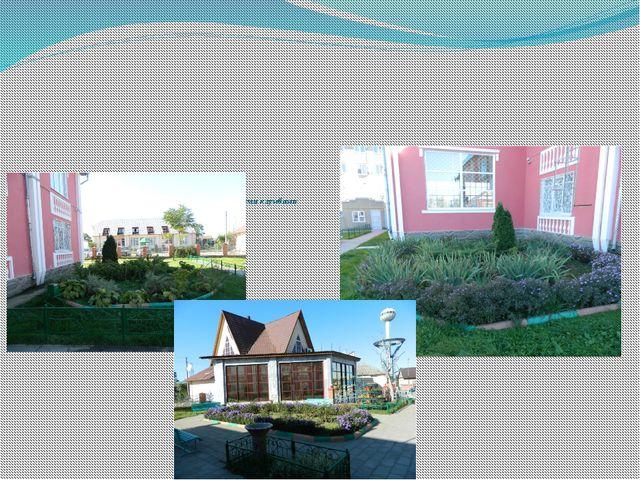 Цель проекта: оформление школьного двора цветочными клумбами