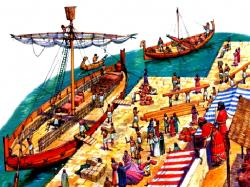 Разработка урока по истории Финикийские мореплаватели для 5 класса