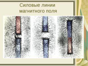 Силовые линии магнитного поля