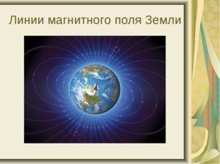 Линии магнитного поля Земли