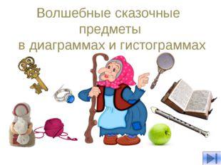 Волшебные сказочные предметы в диаграммах и гистограммах Приглашаем вас в во