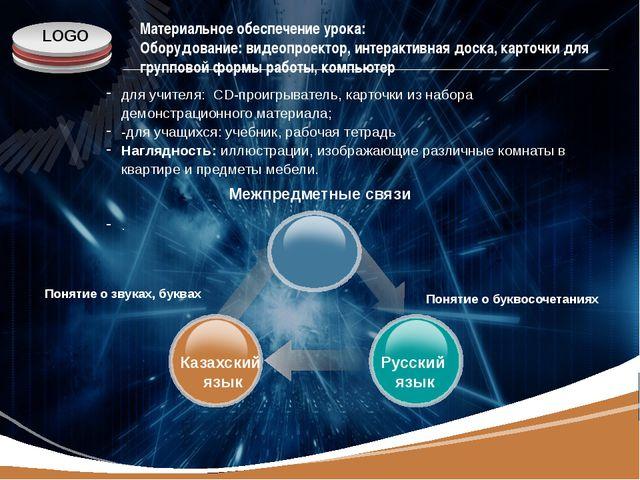 www.themegallery.com Материальное обеспечение урока: Оборудование: видеопроек...