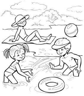 Лето в картинках и стихах для детей Зиновская средняя образовательная школа