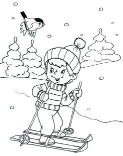 Стихи о зиме для детей. Подарки зимы