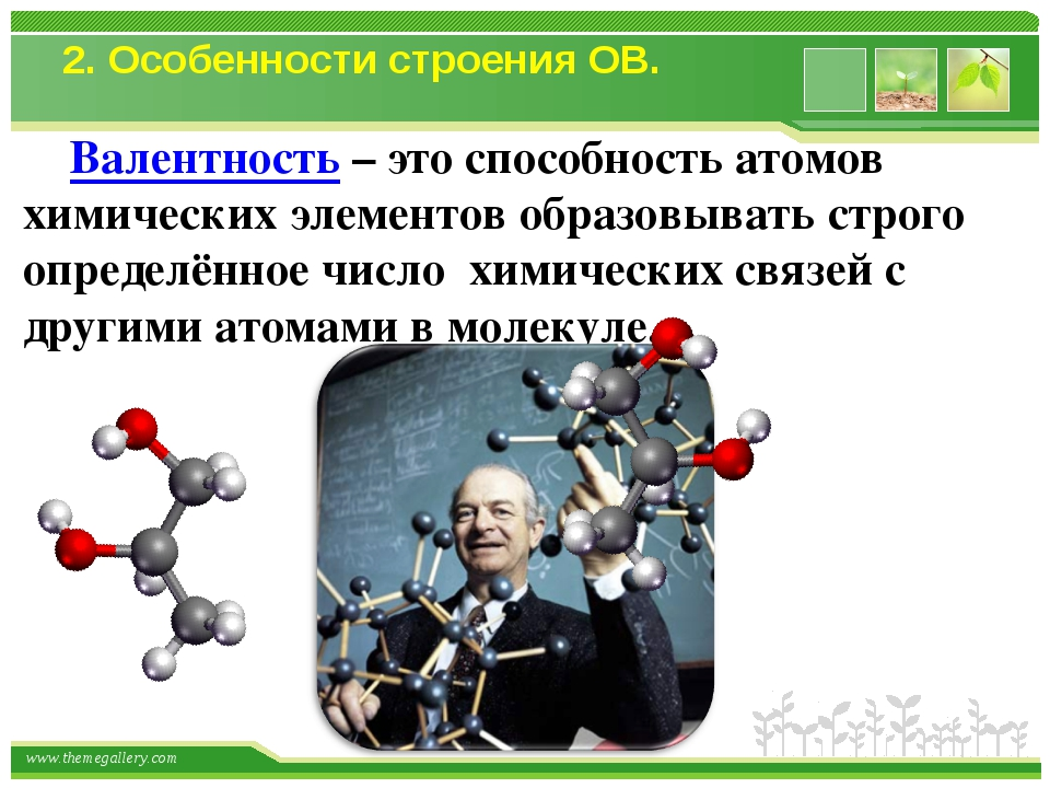 Валентность – это способность атомов химических элементов образовывать строг...