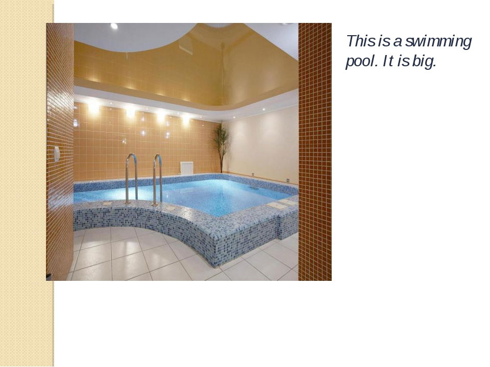 This is a swimming pool. It is big.