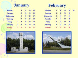 January February